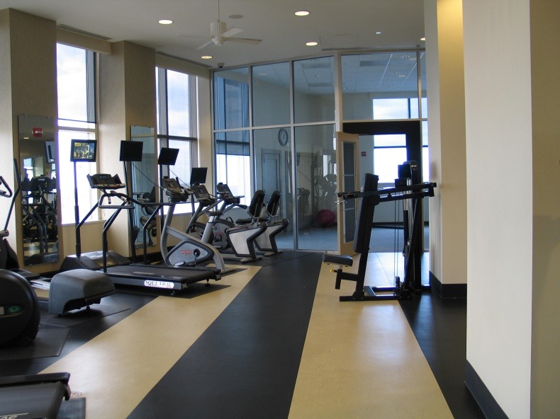 Exercise Rooms Lobbies